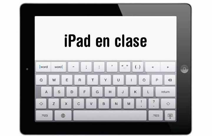 El profesor Gabriel Bailly-Bailliere imparte varios cursos en la UNIR sobre el iPad