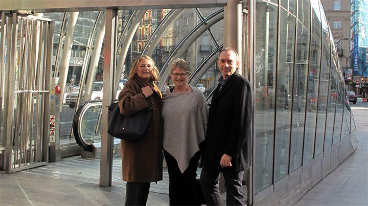 El Comité organizador se reúne con Karin Morrison