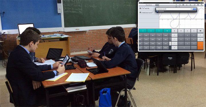 El iPad en matemáticas – ayudándonos de la App Quick Graph  y Showbie