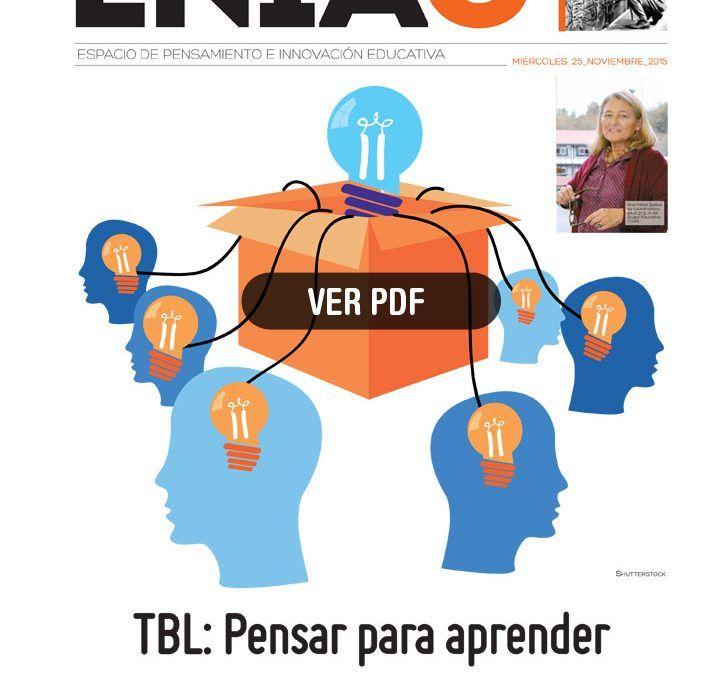 La revista ENIAC recoge la experiencia de COAS en TBL