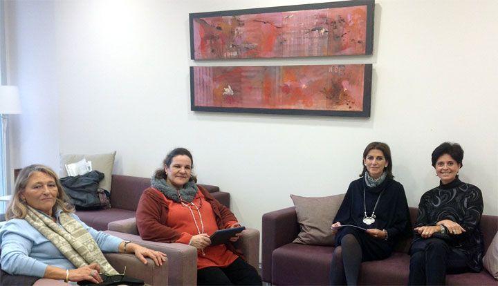 Visita del colegio Guadalaviar para conocer el proyecto educativo de Coas