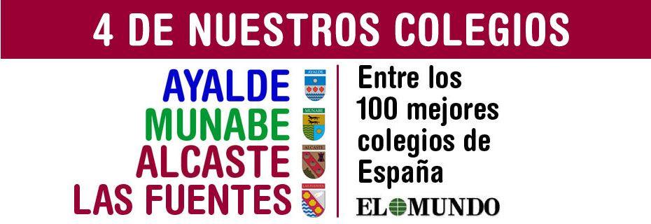 """4 colegios del Grupo Educativo COAS entre los 100 mejores colegios privados según el ranking de """"El Mundo"""" – 2017"""