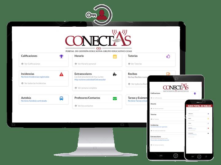 """""""COnectAS"""": La nueva plataforma mejorará la comunicación con las Familias"""