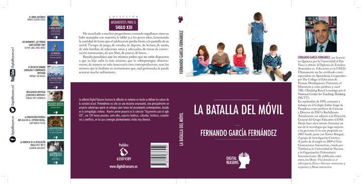 """Fernando García publica el libro """"La batalla del móvil"""""""