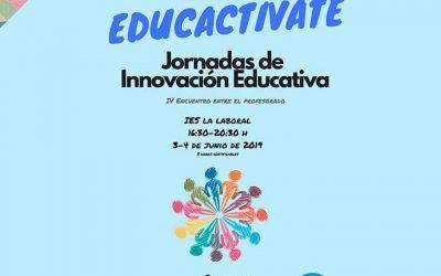 Participamos en las Jornadas Educactívate 2019