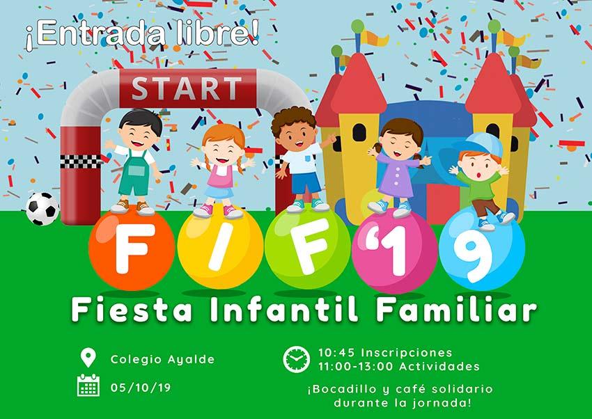 Fiesta Infantil Familiar en los colegios de Bizkaia
