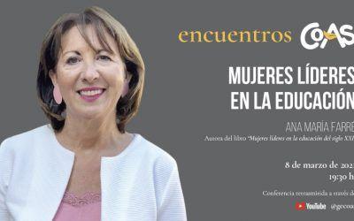 """Sesión online """"Mujeres líderes en educación"""""""